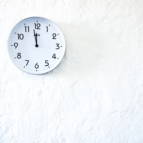 Orologio da parete, scheda di arduino, 2019, 30x30x5 cm